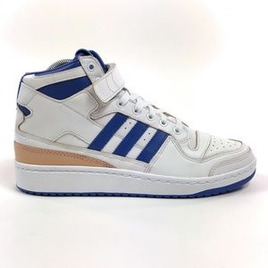 Adidas Forum Mid Wrap Bounce White Shoes BY4412